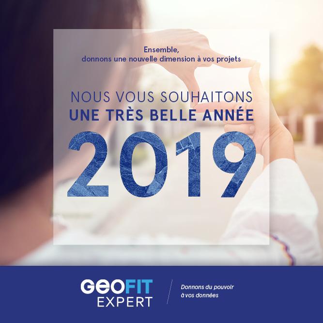 Ensemble donnons une nouvelle dimension à vos projets. Nous vous souhaitons une très belle année 2019 !