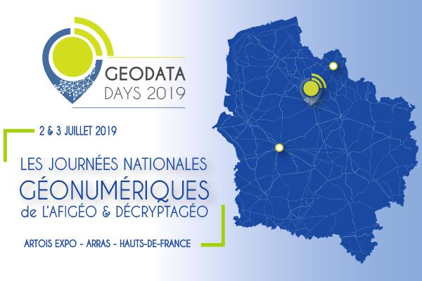 GEOFIT EXPERT vous donne rendez-vous à Arras pour participer au GeoDataDays 2019.